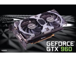 Inno3D NVIDIA Geforce GTX 960 OC Overclocked 2GB 128-Bit GDDR5 Video Card SLI,HDMI,DP X3, DVI 4K