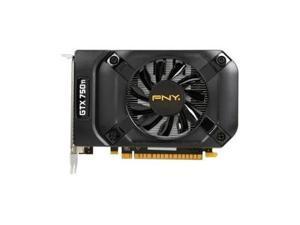 PNY Video Card NVIDIA GeForce GTX 750 Ti OC 2 GB 128-Bit GDDR5 2DVI/Mini HDMI PCI-Express 2GB 640 CUDA Cores