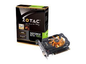 ZOTAC GeForce GTX 750 Ti DirectX 11 2GB 128-Bit GDDR5 PCI Express 3.0 HDCP Ready Plug-in Card Video Graphics Card