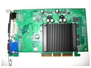 Video Graphics VGA Card nVIDIA GeForce AGP 4X 8X Single Slot VGA+DVI+HDTV 512MB  64-Bit DDR2 DirectX 9 OpenGL 1.5