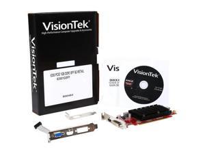 Visiontek Radeon 6350 SFF 1GB DDR3 (DVI-I, HDMI, VGA*) PCI Express 2.1 x16