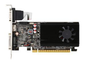 NEW JATON GeForce GT 610 DirectX 11 Video-PX610GT-LX 1GB DDR3 PCI Express 2.0 x16 Low Profile Video Graphis Card