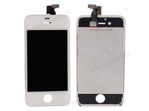 New Replacement Cost-effective LCD Touch Screen Bezel Frame Assembly for iPhone 4S White
