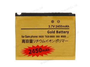 New Replacement 2450mAh High Capacity Gold Battery for SamSung Nexus S I9020