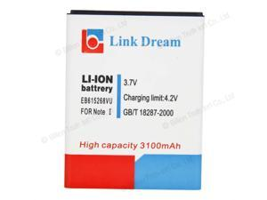 New Replacement Link Dream 3100mAh High Capacity Battery for Samsung Galaxy Note N7000 i717 T879