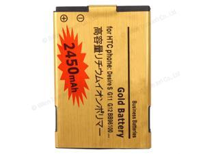 New Replacement 2450mAh Battery for HTC Incredible S G11 Desire S G12 A7272 Desire Z