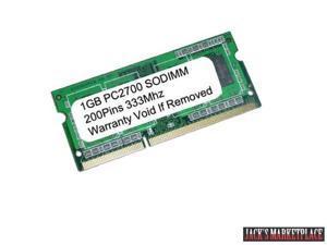 1GB PC2700 333MHz 200Pin Sodimm Laptop RAM MEMORY for Compaq Presario R3000 V5000 V2000 NX9020 (Ship from US)