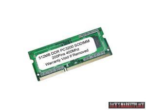 512MB PC3200 DDR 400MHz 200pin SODIMM MEMORY for LAPTOP (Ship from US)