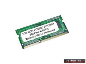 1GB PC3200 DDR-400MHz 200Pin SODIMM UnBuffered LAPTOP MEMORY NEW (Ship from US)