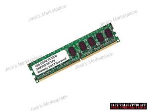 1GB DDR2-800MHz PC2-6400 240PIN Low Density DIMM Desktop RAM Memory (Ship from US)