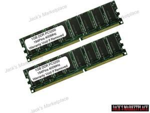 2GB (2X1GB) PC3200 DDR 400MHz 184pin UnBuffered LOW DENSITY Desktop MEMORY (Ship from US)
