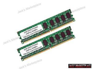 NEW 4GB (2GB X 2) PC2-6400 DDR2-800MHZ 240PIN Dual Channel DESKTOP Memory (Ship from US)
