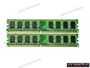 NEW 2GB 2x1GB PC2-4200 DDR2-533MHz 240-pin Unbuffered NON-ECC DESKTOP MEMORY (Ship from US)
