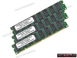768MB (3 X 256MB) PC100 168Pin SDRAM Desktop RAM Memory FOR HP DELL SONY IBM COMPAQ (Ship from US)