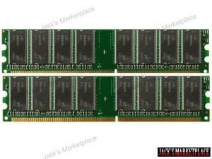 NEW! 2GB (2X1GB) DDR Memory  2GB KIT (2 x 1GB) (2 sticks of 1GB each) DDR-333MHz - PC2700 for Dell Dimension 2400 (Ship from US)