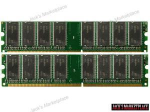 NEW! 2GB (2X1GB) DDR Memory 184-Pin DIMM  DDR-333MHz - PC2700  for Dell Dimension 3000 Basic (Ship from US)