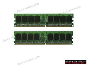2GB (2X1GB) MEMORY 128X64 PC2-5300 667MHZ 1.8V NON ECC DDR2 240 PIN DIMM NEW (Ship from US)