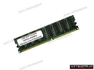 1GB PC3200 DDR-400MHz 184PIN DIMM LOW DENSITY Desktop Memory NEW (Ship from US)