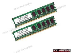 2GB Kit (2x1 GB) DDR2 800MHz PC2-6400 Non ECC DIMM Desktop Memory for Dell Dimension NEW (Ship from US)