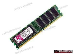 Kingston 1 GB 400MHz PC3200 DDR 184- PIN DIMM Desktop Memory (KVR400X64C3A/1G) (Ship from US)