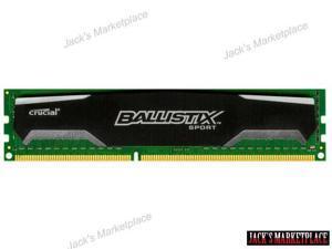 Ballistix Sport 8GB DDR3 1333MHz PC3-10600 1.5V BLS8G3D1339DS1S00 1333 (Ship from US)