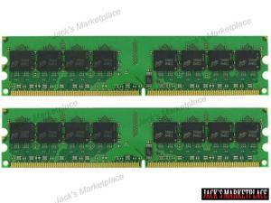 4GB (2*2GB) PC2-5300 1.8V NON-ECC DDR2-667MHZ 240-PIN DIMM 256X64 MEMORY NEW (Ship from US)