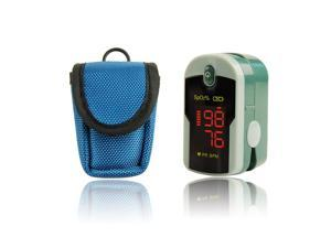 ChoiceMMed Fingertip Pulse Oximeter with Lanyard and Protective Case