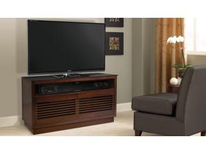 BELL'O WMFC505 No Tools Assembly Chocolate Finish Wood A/V Cabinet
