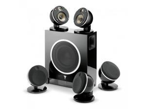 Focal 5.1 Pack Dome Flax and Sub Air Speaker System (Black)