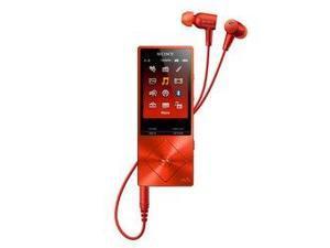 Sony NW-A26HNRM Hi-Res Walkman (Red)