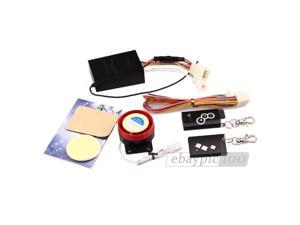 Motorcycle Motorbike 2 Way Security Alarm System Remote Start New