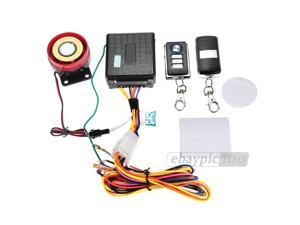Motorcycle Motorbike Anti-theft Remote Control Alarm System Waterproof New