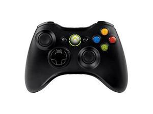 Black Wireless Game Remote Controller for Microsoft Xbox 360 Console---Black