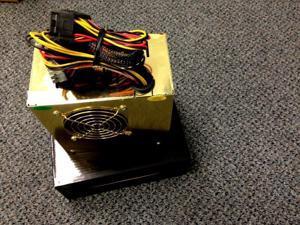 680W  20 24 pin ATX PC Power Supply 2 Fans SATA PCI-E for INTEL i5/i7 Vista
