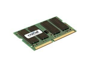 New Crucial 1GB DDR PC2700 333 MHz 200 pin Non-ECC Unbuffered CL 2.5 Sodimm Memory CT12864X335