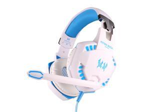 Vibration Stereo Bass Game Gaming Headphone Headset MIC LED Light