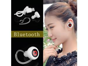 Mini Wireless Stereo Bluetooth In-Ear Earbuds Headphones Earphone Smallest Music+Phone Calls Hands-free Headset