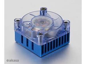 Akasa AK-210 Chipset Cooler with Blue LED Fan