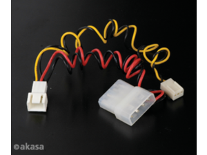 Akasa C-CABLE-ADPT Fan Cable Converter from 3-pin to 4-pin