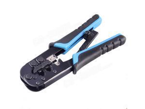 LAN RJ45 RJ11 RJ12 Crimp Crimper Crimping Network Tool 8P/6P Strips CAT Cable