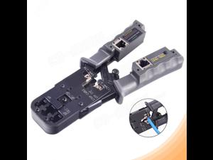 RJ45 RJ11 RJ12 Network Tester Tool Crimper Crimping Pliers Cable