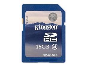 wholesale 5* Kingston 16GB Secure Digital High-Capacity (SDHC) Flash Card Model SD4