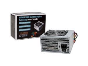 New Logisys PS550E12 550W Power Supply PSU 20+4 pin 550w Watt PC Computer