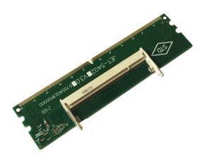 DDR2 Laptop SO-DIMM to Desktop DIMM Memory RAM Adapter DDR2 200Pin To 240Pin Lod