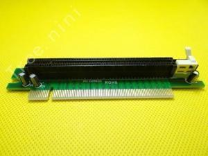PCI-Express 16x Riser Card 90 degree Right-angle Adapter Card Motherboard Accessories