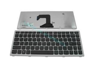 NEW US Keyboard For Lenovo IdeaPad U410 Silver Frame Teclado Series Laptop Notebook Accessories Replacement Parts Wholesale QWERTY