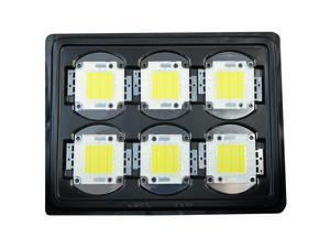 6pcs 30W COB High Power LED Chip Flood Light Energy Saving Lamp Chip 6000K Source Cool White For Flood Lights DIY