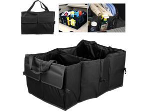 NEK Tech Folding Auto Trunk Organizer - Large Capacity, Durable Construction, Convenient Space Saver, Multiple Uses for Car, Truck, RV, and SUV