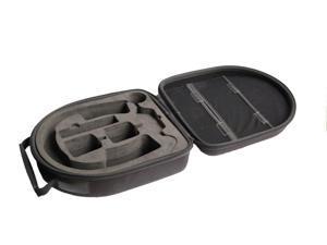 Black waterproof Headphone carry case carry bag box for Denon AH D1100 AH D710