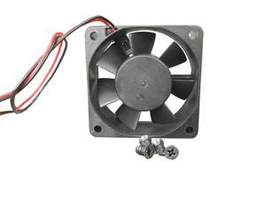 60mm 25mm Case Fan 12V DC 13CFM Cooling Computer CPU PC Fluid Brg 2pin 132A*